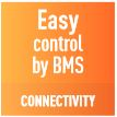 Easy control by BMS