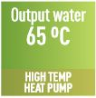 Output water 65°C