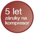 5 let záruka na kompresor